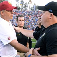 USC vs. UCLA: Will Trojans fire Clay Helton after loss to Bruins?