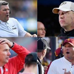 College football coaching carousel rumors: Urban Meyer, Clay Helton, Kliff Kingsbury and more