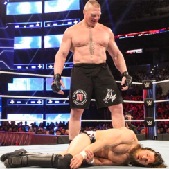 Brock Lesnar and Daniel Bryan