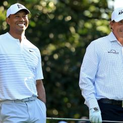 Tiger Woods phil mickelson the match betting odds gambling props