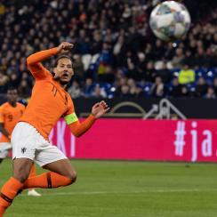Virgil Van Dijk scores the late equalizer vs. Germany
