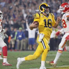 Rams QB Jared Goff vs. Chiefs