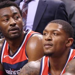 John Wall and Bradley Beal