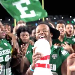 Eastern Michigan asks to play in bowl