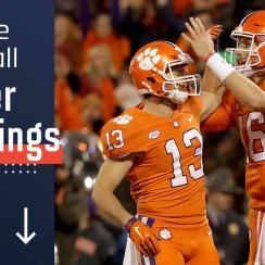 College football Power Rankings: Clemson, Alabama, Georgia, Notre Dame