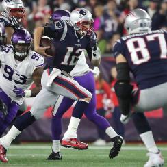 Tom Brady rushing yards: Patriots QB jokes he's retiring (video)