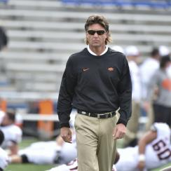 Mike Gundy sends radio host check for betting on Oklahoma State