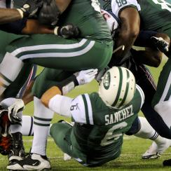 Mark Sanchez jokes about butt fumble