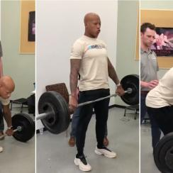 Steelers' Ryan Shazier deadlifting video