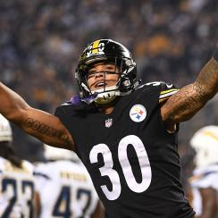 Steelers running back James Conner could return for Week 15