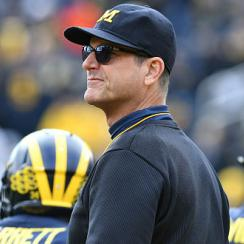 Harbaugh is staying in Michigan