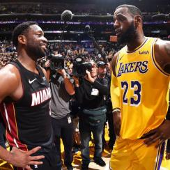 Miami Heat v Los Angeles Lakers