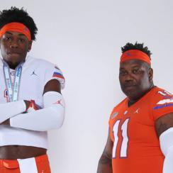 Lloyd Summerall: Florida recruit's dad wears full Gators uniform