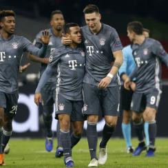 Bayern Munich draws Ajax in the Champions League