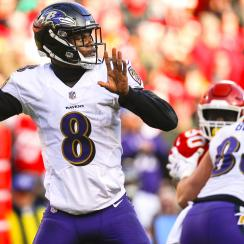 Lamar Jackson starting QB for Ravens, Joe Flacco backup
