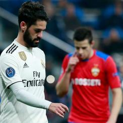 Real Madrid loses to CSKA Moscow in Champions League