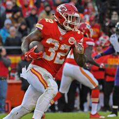 Spencer Ware doubtful vs. Chargers