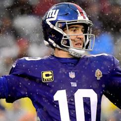 Eli Manning named Giants starter Week 16