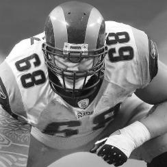 St. Louis Rams Kyle Turley