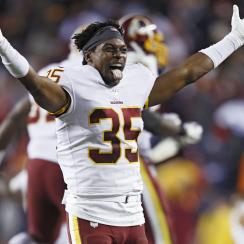 Redskins' Montae Nicholson arrested