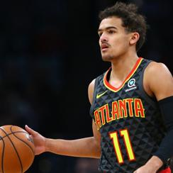 Trae Young Four Point Line