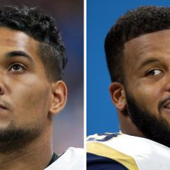 James Conner: Steelers RB shares text from Aaron Donald