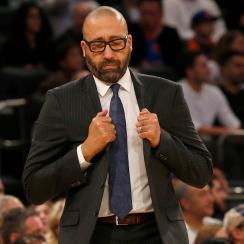 David Fizdale: Knicks coach tells story of falling in poop (video)