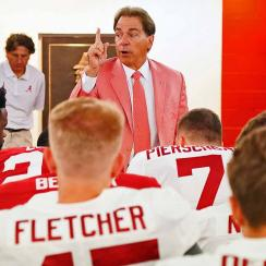 Alabama's halftime adjustments: Nick Saban, Tua Tagovailoa and what goes on in the locker room