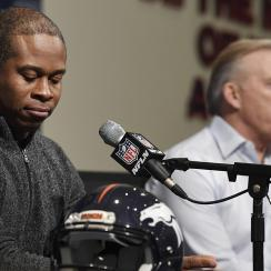 THe Denver Broncos season ending press conference