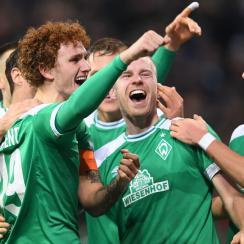 Josh Sargent scores for Werder Bremen in the Bundesliga