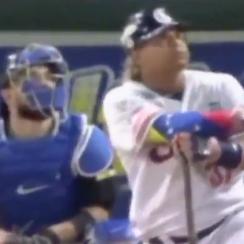 Willians Astudillo bat flip video: Twins C homers in Venezuela