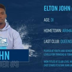 Soccer player Elton John signs with Halifax Wanderers