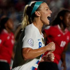 Julie Ertz will help lead the U.S. women's national team at the Women's World Cup in France