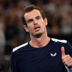 Andy Murray loses retire hip australian open