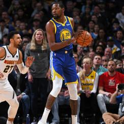 Warriors score 51 points first quarter vs nuggets