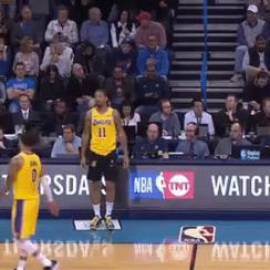 Michael Beasley forgets shorts