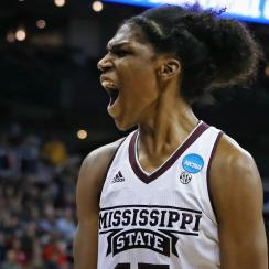 NCAA BASKETBALL: MAR 25 Div I Women's Championship - Quarterfinals - UCLA v Mississippi State