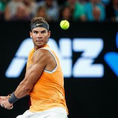 Rafael Nadal defeats alex de minaur australian open