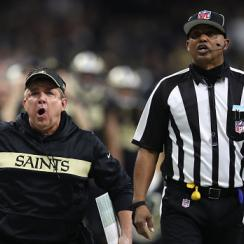 Sean Payton says nfl confirmed refs blew call