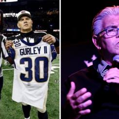 Mike Francesa thought Todd Gurley-ref photoshop was real