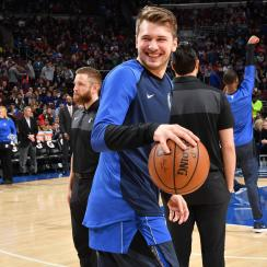 Luka Doncic fined for kicking ball into stands