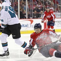 San Jose Sharks v Washington Capitals