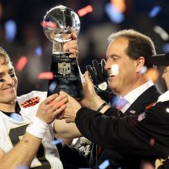 Saints fans will watch 2010 Super Bowl, not Rams-Patriots
