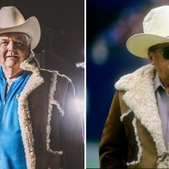 Super Bowl 2019: Rams' Wade Phillips wears dad Bum's coat to Atlanta