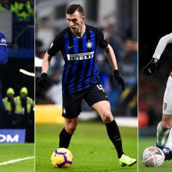 Alvaro Morata, Ivan Perisic and Mesut Ozil could be on the move before the January transfer deadline