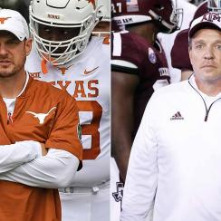 Texas vs Texas A&M rivalry: Tom Herman, Jimbo Fisher in for big 2019 seasons