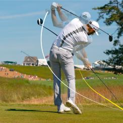 Dustin Johnson driving distance golf ball rollback