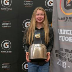 katelyn tuohy cross country runner of the year