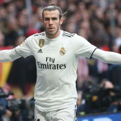 Gareth Bale faces a ban for a celebration at Atletico Madrid