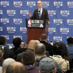 2019 NBA All Star Commissioner's Media Availability